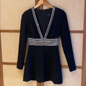 Marciano Gorgeous Black Party Dress